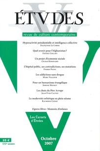 Études 2007/10
