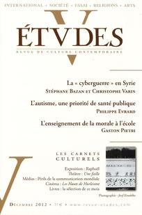 Études 2012/12