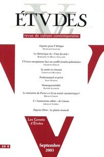 Études 2003/9