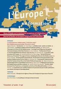 L'Europe en Formation 2010/2