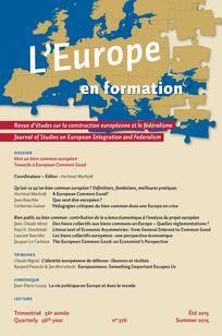 L'Europe en Formation