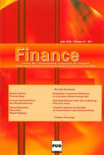 Finance 2010/1