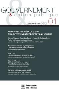 Gouvernement et action publique 2012/1