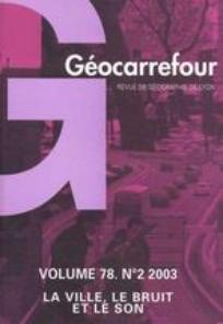 Géocarrefour 2003/2