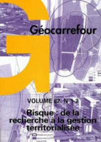 Géocarrefour 2007/1