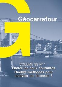 Géocarrefour 2013/1