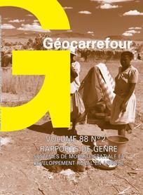 Géocarrefour 2013/2