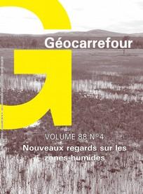 Géocarrefour 2013/4
