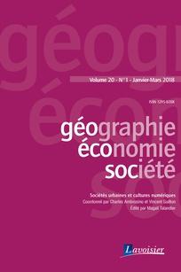 Géographie, Economie, Société Vol.20, N°1 (01/01/2018)