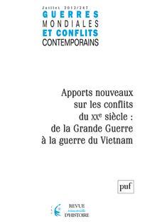 Guerres mondiales et conflits contemporains 2012/3