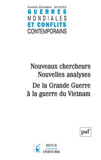 Guerres mondiales et conflits contemporains 2013/4