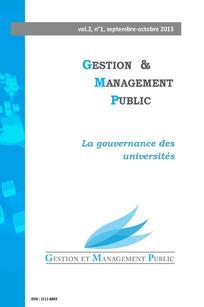 Gestion et management public 2013/3