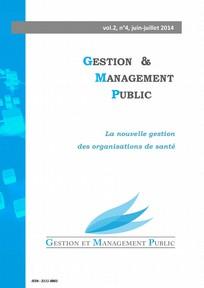 Gestion et management public 2014/2