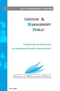 Gestion et management public 2014/4