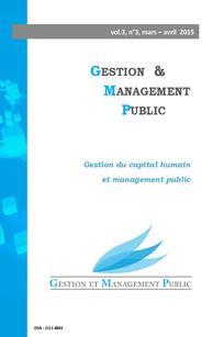 Gestion et management public 2015/1