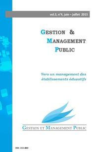 Gestion et management public 2015/2