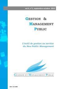 Gestion et management public 2015/3