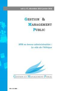 Gestion et management public 2015/4
