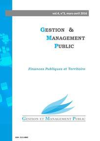 Gestion et management public 2016/1