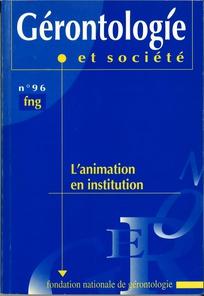 Gérontologie et société 2001/1