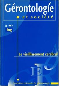 Gérontologie et société 2001/2