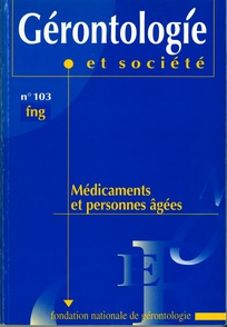 Gérontologie et société 2002/4