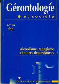Gérontologie et société 2003/2