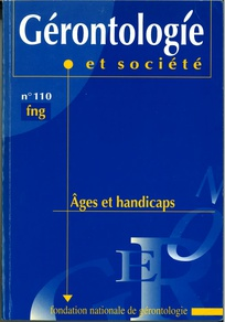Gérontologie et société 2004/3