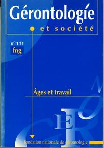 Gérontologie et société 2004/4