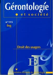 Gérontologie et société 2005/4
