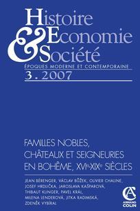 Histoire, économie & société 2007/3