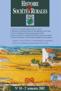 Histoire & Sociétés Rurales 2002/2