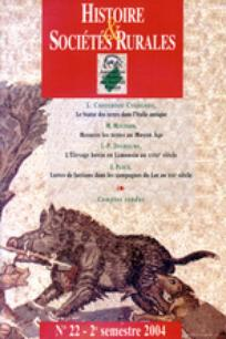 Histoire & Sociétés Rurales 2004/2