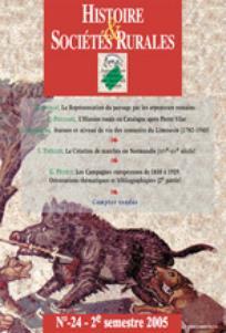 Histoire & Sociétés Rurales 2005/2