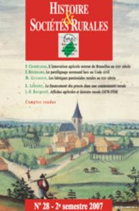 Histoire & Sociétés Rurales 2007/2
