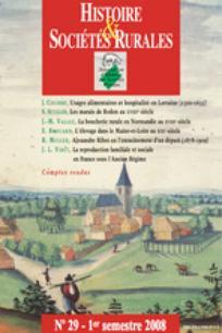 Histoire & Sociétés Rurales 2008/1