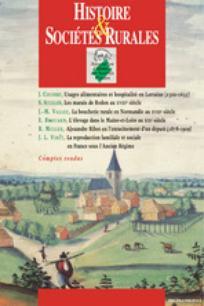 Histoire & Sociétés Rurales 2008/2