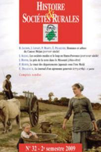 Histoire & Sociétés Rurales 2009/2