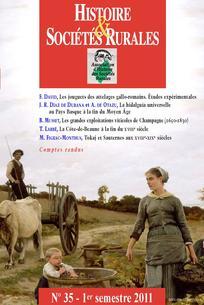 Histoire & Sociétés Rurales 2011/1
