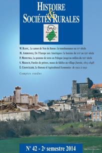 Histoire & Sociétés Rurales 2014/2