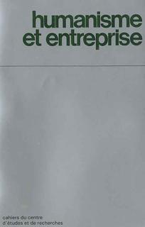 Humanisme et Entreprise 2009/1