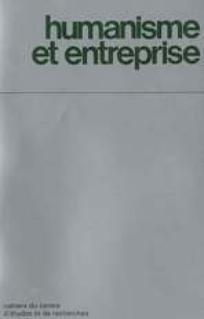 Humanisme et Entreprise 2012/4