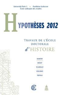 Hypothèses 2013/1