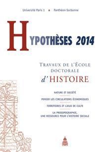 Hypothèses 2015/1