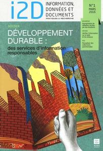 I2D – Information, données & documents 2016/1