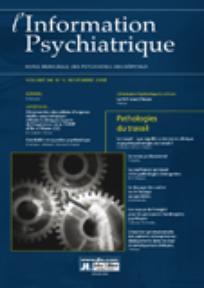 L'information psychiatrique 2008/9