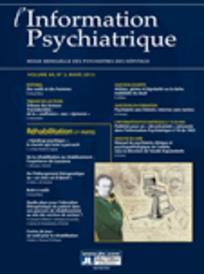 L'information psychiatrique 2013/3