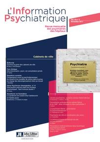 L'information psychiatrique 2017/9