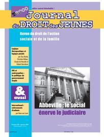 Journal du droit des jeunes 2001/1