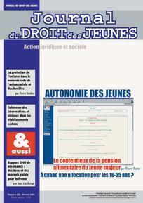 Journal du droit des jeunes 2001/2